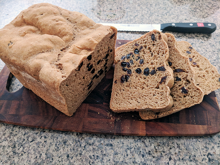 Bob's Red Mill GF Raisin Bread