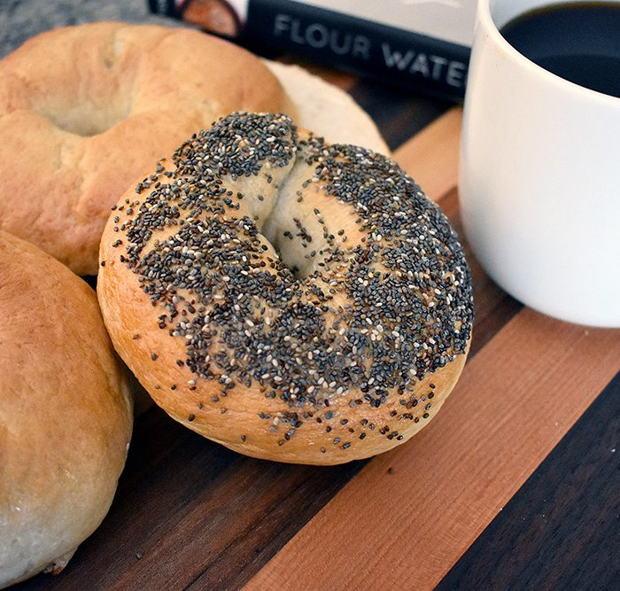 Bagels recipe for bread machines
