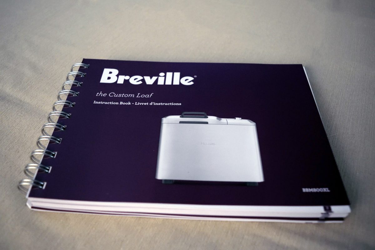 breville custom loaf book