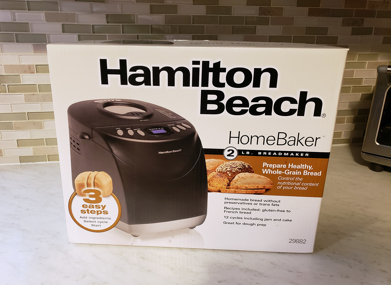 hamilton beach bread machine review